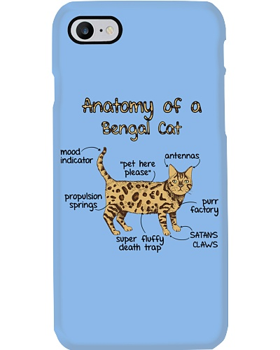 Anatomy Of Bengal Cat