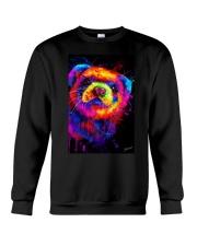 Ferret Water Color  Crewneck Sweatshirt thumbnail