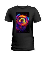 Ferret Water Color  Ladies T-Shirt thumbnail