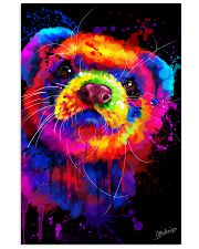 Ferret Water Color  11x17 Poster front