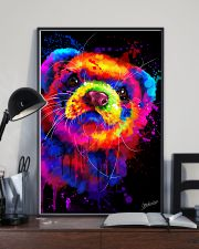 Ferret Water Color  11x17 Poster lifestyle-poster-2
