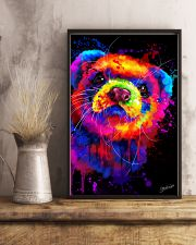 Ferret Water Color  11x17 Poster lifestyle-poster-3