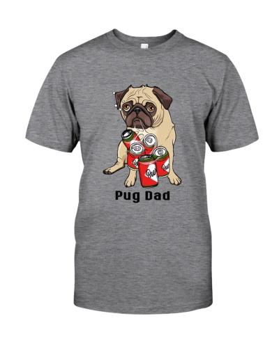Pug Beer Dad