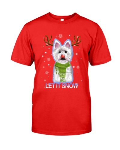 Westie -Tee shirt-Christmas-PM-IDM-19-10
