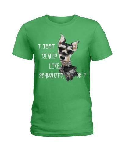 I Just Really Like Schnauzer