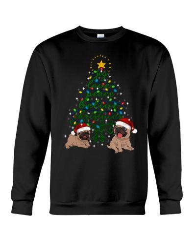pug joy christmas