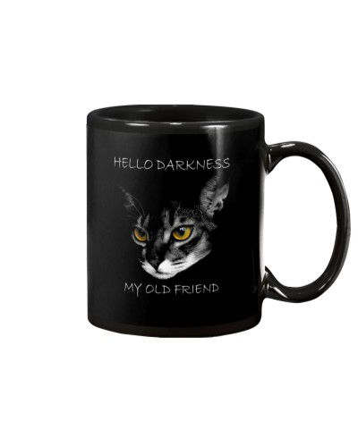 Abyssinian Cat Darkness
