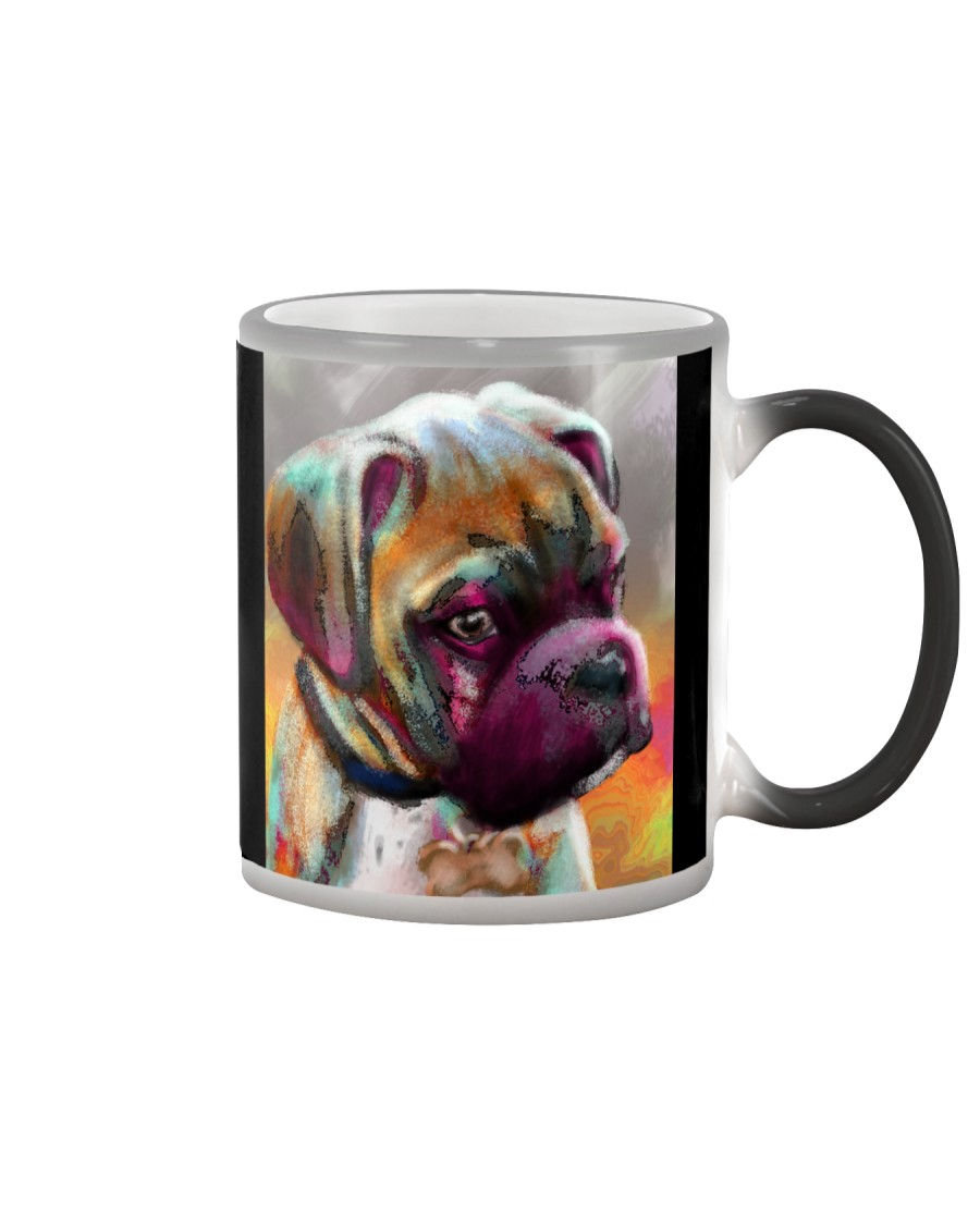 Boxer Mug Art