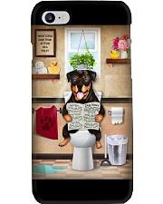 Rottweiler Toilet Phone Case thumbnail
