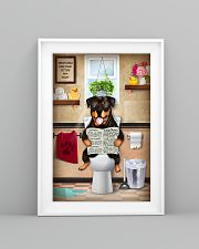 Rottweiler Toilet 11x17 Poster lifestyle-poster-5