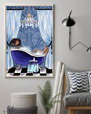 Rottweiler Bathtub  11x17 Poster lifestyle-poster-1