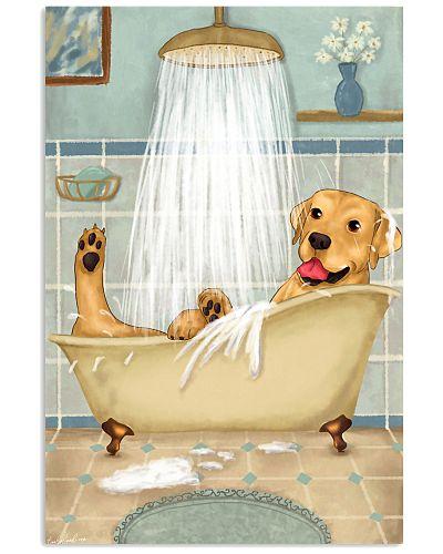 Labrador Happy Bath