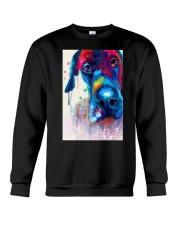 Great Dane Face Art Flow Y10 Crewneck Sweatshirt thumbnail