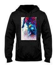 Great Dane Face Art Flow Y10 Hooded Sweatshirt thumbnail