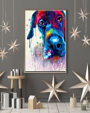 Great Dane Face Art Flow Y10 11x17 Poster lifestyle-holiday-poster-1