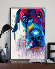 Great Dane Face Art Flow Y10 11x17 Poster lifestyle-poster-2
