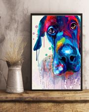 Great Dane Face Art Flow Y10 11x17 Poster lifestyle-poster-3