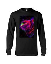 French bulldog Water Color Art Splash M10 Long Sleeve Tee thumbnail