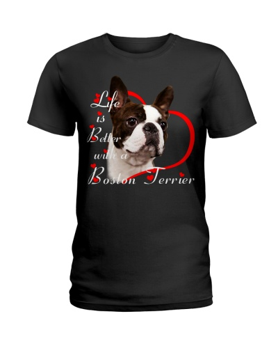 Boston Terrier Life Is Better