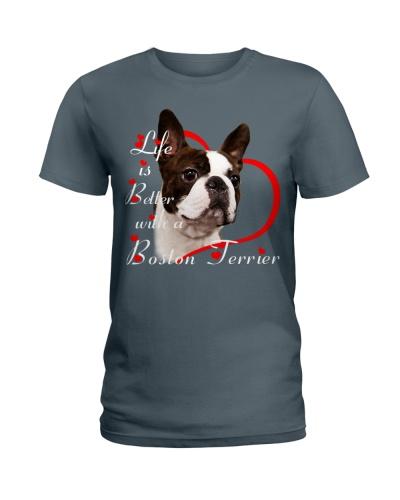 Boston Terrier Life Is Better