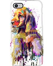 Cocker Spaniel Poster Flow Art V1 Phone Case thumbnail