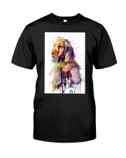 Cocker Spaniel Poster Flow Art V1 Classic T-Shirt thumbnail