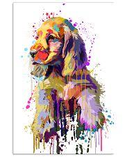 Cocker Spaniel Poster Flow Art V1 11x17 Poster front