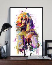 Cocker Spaniel Poster Flow Art V1 11x17 Poster lifestyle-poster-2