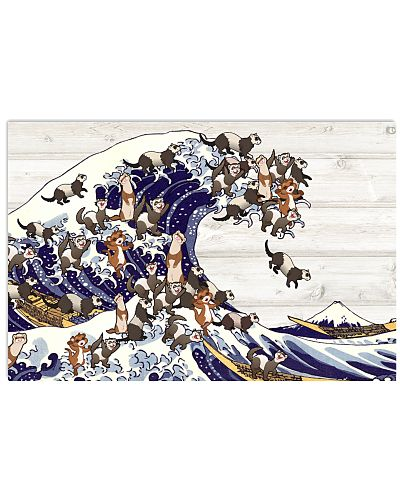 Ferret great wave