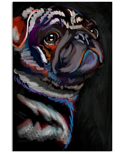 Pug Water Color