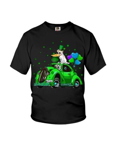 Labrador Car Patrick Day