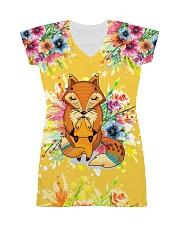 Fox tie All-over Dress thumbnail