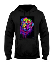 Dogue Water Color Art X10 Hooded Sweatshirt thumbnail