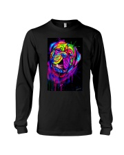 Dogue Water Color Art X10 Long Sleeve Tee tile
