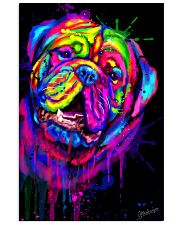 Dogue Water Color Art X10 11x17 Poster front