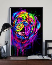 Dogue Water Color Art X10 11x17 Poster lifestyle-poster-2