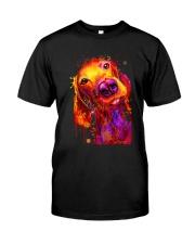 VIZSLA WATERCOLOR POSTER Classic T-Shirt thumbnail