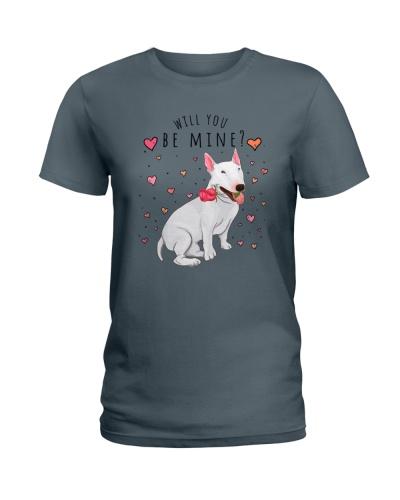 Bull Terrier Will U Be Mine