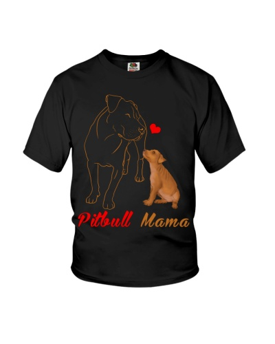 Pitbull Dog Mama