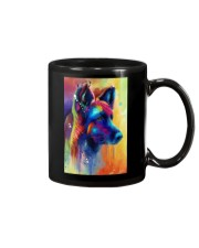 German Shepherd Water Color Art Flow A50 Mug thumbnail