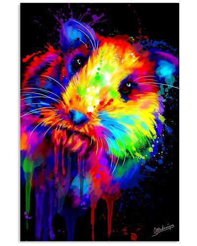 Guinea Pig Water Color Art Look At Me