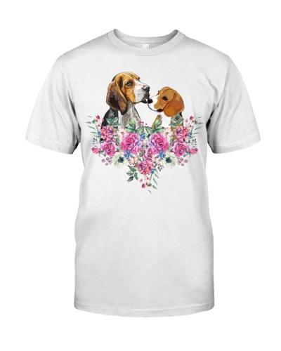 Beagle Dog Flower