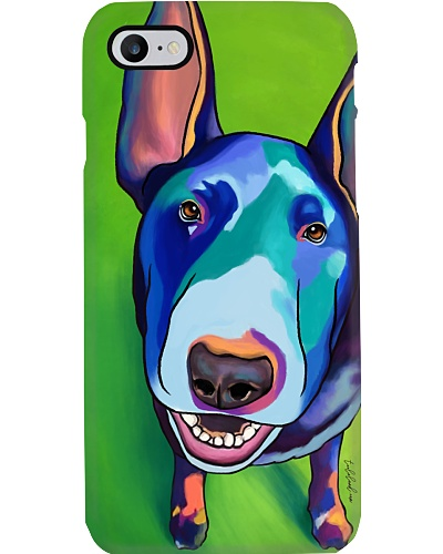 Bull Terrier Water Color Phone Case