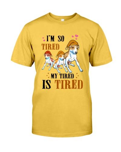 Greyhound Tired