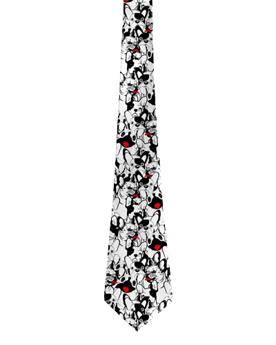 Frenchie tie pattern