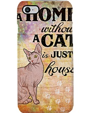 HOME WITHOUT CAT IS JUST A HOUSE Phone Case thumbnail