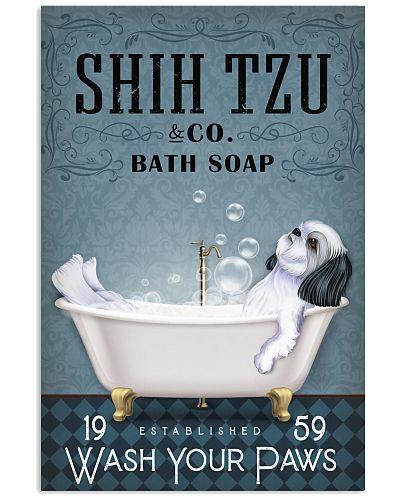 Shih Tzu Bathtub