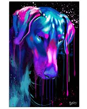 Doberman Water Color 16x24 Poster front