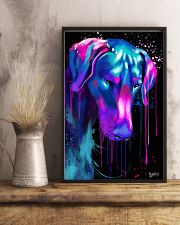 Doberman Water Color 16x24 Poster lifestyle-poster-3