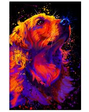 Golden Retriever Water Color 16x24 Poster front